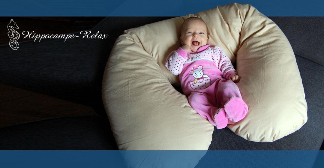 coussin d 39 allaitement hippocampe relax pour femme enceinte et b b. Black Bedroom Furniture Sets. Home Design Ideas